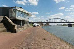 Het nieuwe Airbornemuseum aan de Rijnkade in Arnhem.