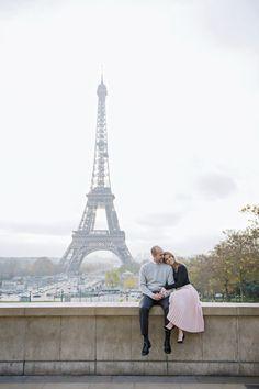 Sunday are for snuggles at the Eiffel Tower! #parisphotographer #parisengagement #photographerinparis  www.theparisphotographer.com