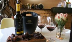 Marianne Wine Estate in Stellenbosch is a Hidden Gem - Love My Cape Town French Symbols, Cape Town, Red Wine, Gem, Alcoholic Drinks, Bottle, Ideas, Food, Wine