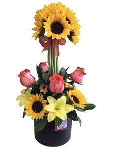 Topiary, Sunflowers, Floral Arrangements, Floral Design, Daisy, Floral Wreath, Teacup, Florals, Rose