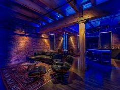 Ice House Loft by 186 Lighting Design Group