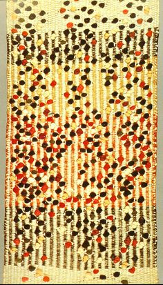 Anni Albers (Berlijn woont in Amerika) Pictorial weaving 1959 New York , originally uploaded by shaunaisms . Textile Patterns, Textile Design, Print Patterns, Weaving Textiles, Tapestry Weaving, Textile Fiber Art, Textile Artists, Anni Albers, Josef Albers