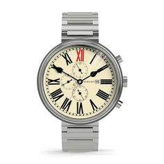 The King - Vintage Steel - Newgate Watches - THE POMMIER - 1