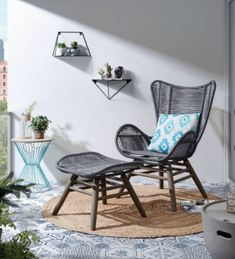Étagère Teg 40 x 20 cm prisme Furniture, Home, Kave Home, Colorful Plants, Autumn Display, Outdoor Chairs, Fall Container Gardens, Galvanized Tub, Dining Chairs
