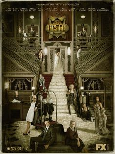 The cast of American Horror Story: Hotel can't wait for you to check in. I Loved all of AHS I hope Hotel is as great as the rest! American Horror Story Hotel, Cuba Gooding, Series Gratis, Brooklyn Nine, Critique Cinema, Ahs Hotel, Hotel 6, Grand Hotel, Cheyenne Jackson