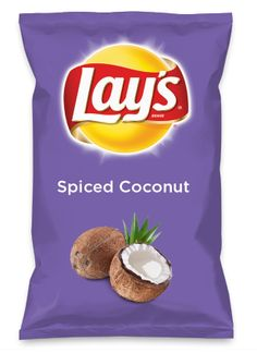 Wouldn't Spiced Coconut be yummy as a chip? Lay's Do Us A Flavor is back, and the search is on for the yummiest flavor idea. Create a flavor, choose a chip and you could win $1 million! https://www.dousaflavor.com See Rules.