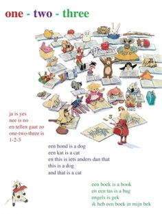 Aan de muur - Poëzieposters - poëzieposter one-two-three Hans en Monique Hagen Holiday Celebrations Around The World, Celebration Around The World, Poetry For Kids, Dutch Language, One Two Three, I Love My Daughter, Primary Education, Teacher Favorite Things, Kids Corner