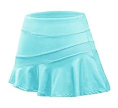 Ekouaer Athletic Skirts for Women with Shorts - Workout Running Golf Tennis Skorts with Pockets, Medium Rose Red at Amazon Women's Clothing store Summer Ootd, Trendy Summer Outfits, Tennis Workout, Workout Shorts, Athletic Skirts, Tennis Skort, Skorts, Athletic Women, Pleated Skirt