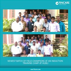 Fincare congratulates our latest field champions on joining the journey of progress. To join us, Pls mail in your resume to careers@fincare.com or visitwww.fincare.com/career
