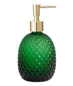 Glass Soap Pump