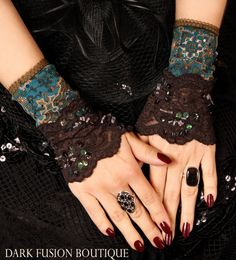 Hippie and gothic combined? Love it.