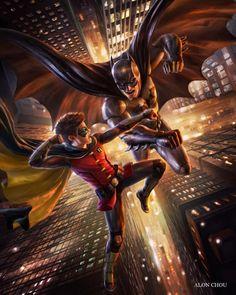 Batman bad blood art