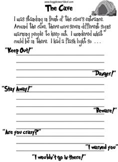 fun creative writing prompts Looking for ways to get your kids excited about writing try one of these fun (and free) printable writing prompts + take the fight for your write pledge.