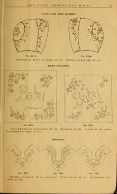 Embroidery hints: Fall and Winter 1910