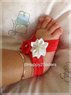 Bare foot Baby Sandals - Baby Barefoot Sandals - Barefoot Sandals.
