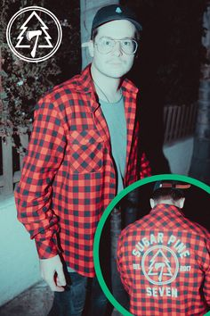 3d69be77a Sugar Pine 7 Flannel Shirt. Rooster Teeth ...