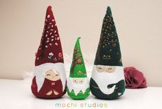 I love these beautiful gnomes!