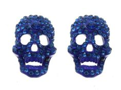Blue stud skull earring Fashion Jewelry Costume Jewelry fashion accessory Beautiful Charms Beautiful Charms Annys fashion jewelry,http://www.amazon.com/dp/B00F3L1URI/ref=cm_sw_r_pi_dp_B0bLsb0VPC1FT1N4
