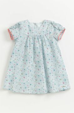 Love this Liberty print dress!  Chloé 'Liberty Print' Floral Dress (Baby) available at #Nordstrom
