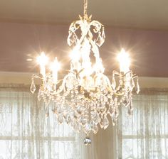 I could just pin chandeliers all day long. Wait, I think I already do...