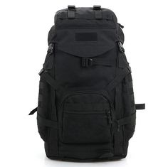 60L camouflage series sport shoulder tactical backpack military enthusiasts camping hiking outdoor hiking backpack ^^ Awesome product. Click the image : Backpacking gear