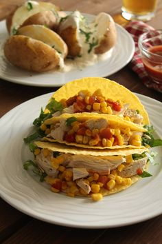 Cookbook Recipes, Cake Recipes, Cooking Recipes, Chicken Tacos, Street Food, Sandwiches, Sour Cream, Salad, Beef