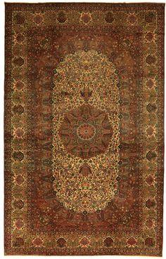 Kerman 543x325, A 20th century Kerman carpet by the master weaver Kermani.