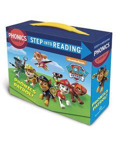 Look what I found on #zulily! PAW Patrol Phonics Paperback Box Set by PAW Patrol #zulilyfinds