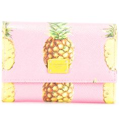 Dolce & Gabbana pineapple print purse (8270 TWD) ❤ liked on Polyvore featuring bags, pink bag, pineapple print bag, dolce gabbana bags, snap bag and pineapple bag