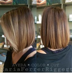Coupe coupe et couleur. Medium Hair Styles, Curly Hair Styles, Hair Color And Cut, Hair Affair, Great Hair, Hairstyles Haircuts, Hair Today, Hair Highlights, Hair Lengths