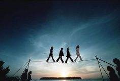 The Beatles, Abbey Road: Tightrope Walking