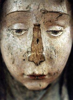 carved, wood, sculpture