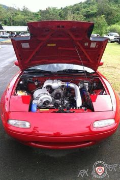 MX-5 13B turboI, want ro put one of this engine on my car. (Without the turbo& the custom intake of course) !Too much power to handle!