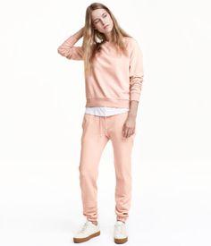 Sweathose Skinny Fit   Puderrosa   Ladies   H&M DE
