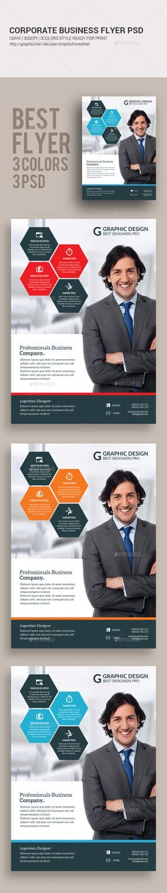 Buy Corporate Flyer by GraphicForestNet on GraphicRiver. Corporate Flyer, Corporate Business, Marketing Flyers, Psd Flyer Templates, Flyer Layout, Creative Flyers, Photoshop, Graphic Design, Digital