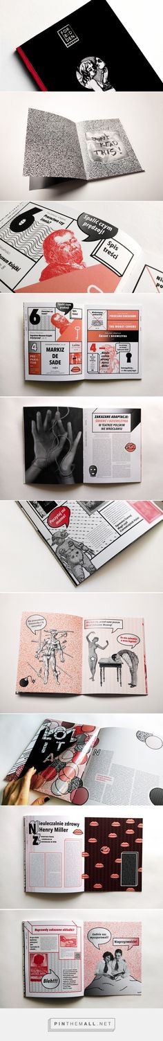Forbidden Books Magazine on Behance - created via https://pinthemall.net