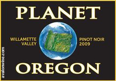 """Tried this pinot and really liked it.  A """"Green Wine"""" from Oregon."""