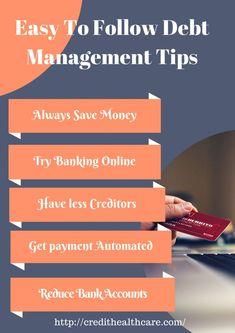 Effective Management Tips to Follow   #debt #finance #moneytips #debtmanagement  #credit #getoutofdebt Money Tips, Money Saving Tips, Low Car Insurance, Get Out Of Debt, Management Tips, Finance Tips, Budgeting Tips