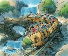 Disney Releases Information On Seven Dwarfs Mine Train Coaster