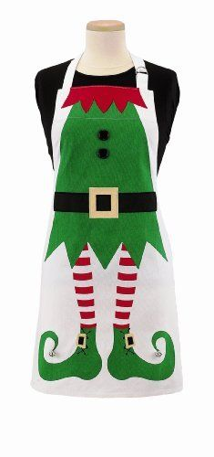 Santa's Helper Apron | Christmas aprons, Christmas morning and Apron
