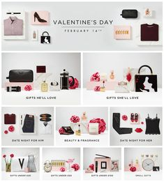Valentine's Day Gifts For Her, Gifts For Him & Small Gestures Valentines Day Gifts For Her, Coupon Codes, Gifts For Him, Big, Stuff To Buy, Fashion, Moda, Fasion, Trendy Fashion