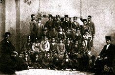 1928: Baha'i children's class in Rafsinjan, Persia