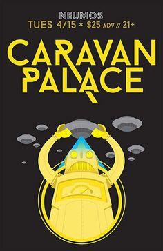 Listen: Dramaphone - Caravan Palace