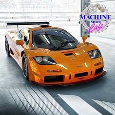 Visit The MACHINE Shop Café... (Best of McLaren @ MACHINE) Rare McLaren F1 GTR Supercar