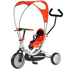 Lil' Rider Convertible 4-in-1 Stroller Tricycle - 16539192 - Overstock.com Shopping - The Best Prices on Lil' Rider Tricycles