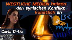 Carla Ortiz: Westliche Medien heizen den syrischen Konflikt künstlich | ...