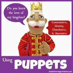 And Here We Go!: Using Puppets