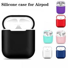 3D Print Hard Leather Case for AirPods Protective Accessories Cover Pouch Bluetooth Earphone Case Unique Case Gifts Toys,case with Rope