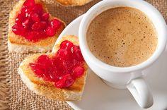 Resultado de imagem para café da manhã coração
