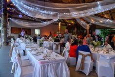 Indoor wedding reception by the adult pool at the Outrigger Fiji. Photographed by Anais Photography. see more on website. Adult Pool, Indoor Wedding Receptions, Fiji, Table Decorations, Website, Photography, Home Decor, Photograph, Photography Business